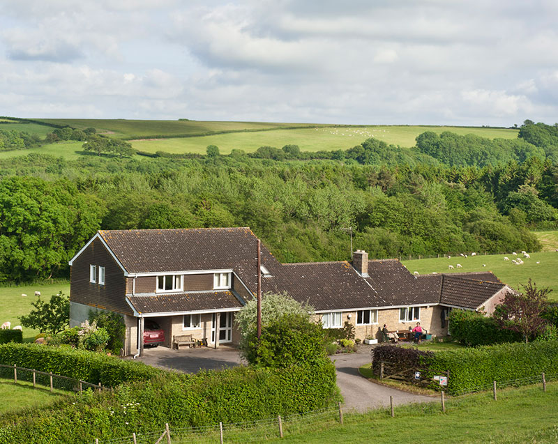 Bed and Breakfast Farm Accommodation, Toller Porcorum, Dorset