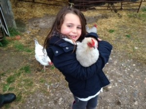 Maddy with Lavender Pekin