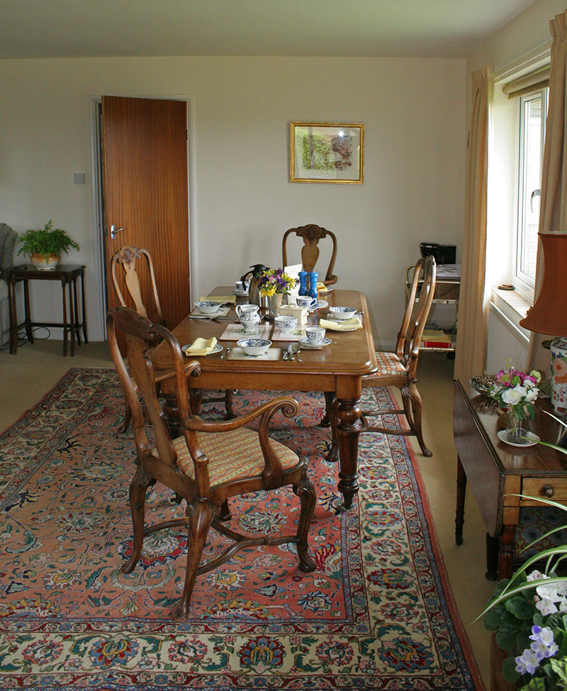 Colesmoor Farm Accommodation Dining Room